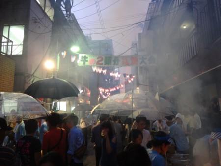 牛2頭分の焼肉イベント!!(春日3丁目にて・・・)