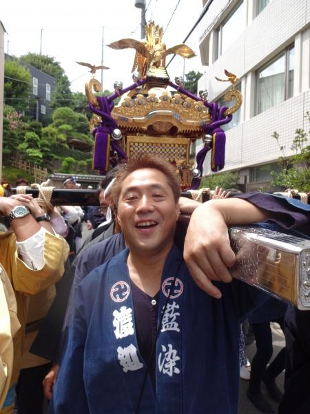 五十の夏のよき思い出に!!(神輿新調 渡御)