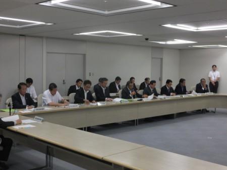 23区議長会が東京都へ要望!!(都庁にて)