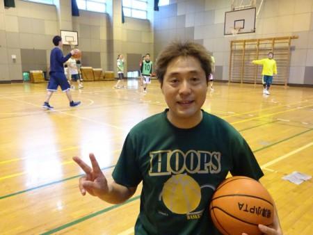 7ヶ月ぶりに復帰!!(バスケ練習に参加)