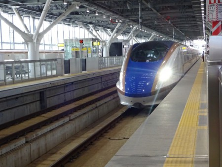 北陸新幹線に乗って!!(金沢へ)