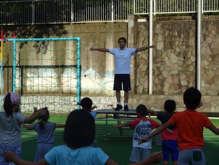 「正しい体操」を学ぼう!!(汐見小学校にて・・・)