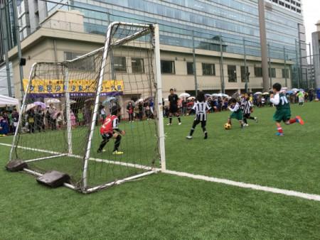 開催できて良かったです。。。(ライオンズカップ少年少女サッカー大会)