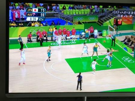 あと一歩!!(女子バスケ、オーストラリアに善戦)