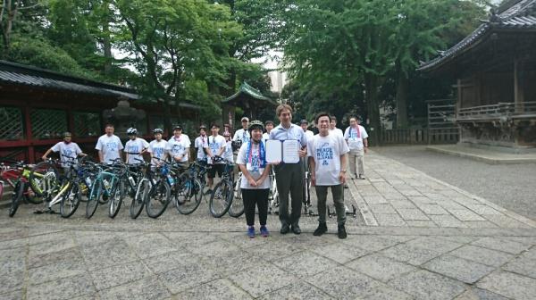 ピースロード2017!!(根津神社にて・・・)