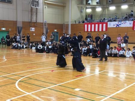 女子剣士の活躍が顕著!!(千代田区少年少女剣道大会)